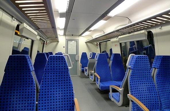 Bestuhlung S-Bahn