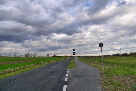Radweg nach Grasmannsdorf