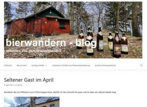 Neues Design des bierwandern-blog